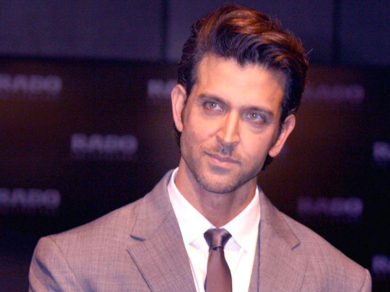 Actor Hrithik Roshan