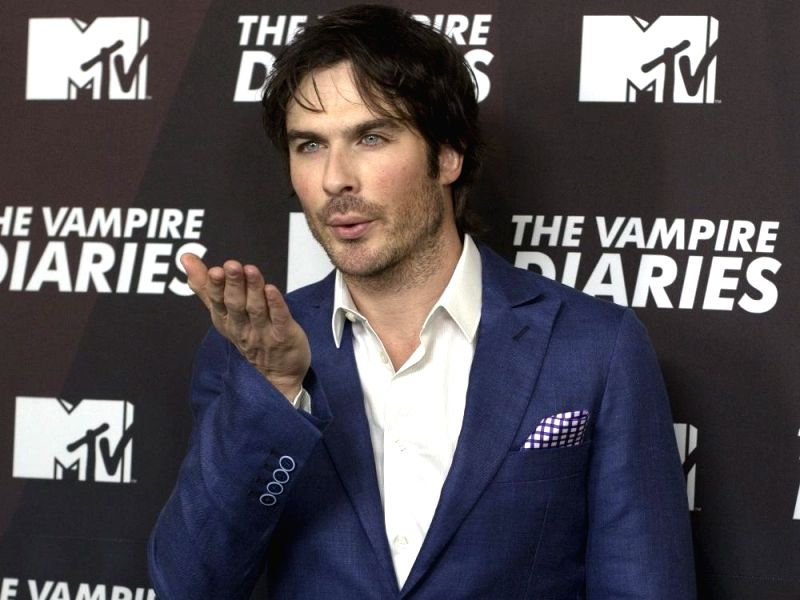 Actor Ian Somerhalder. (File Photo: IANS)