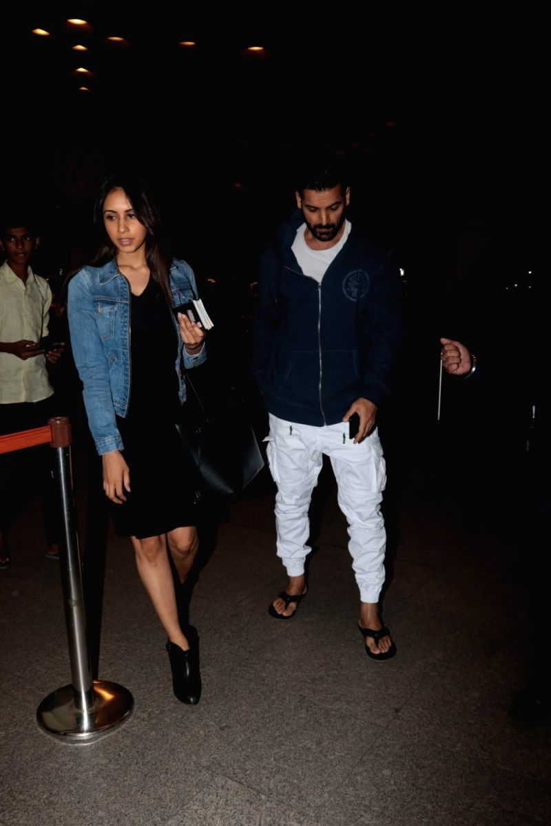 Actor John Abraham along with his wife Priya Runchal. Priya is an investment banker and the  duo certainly lead very private lives.