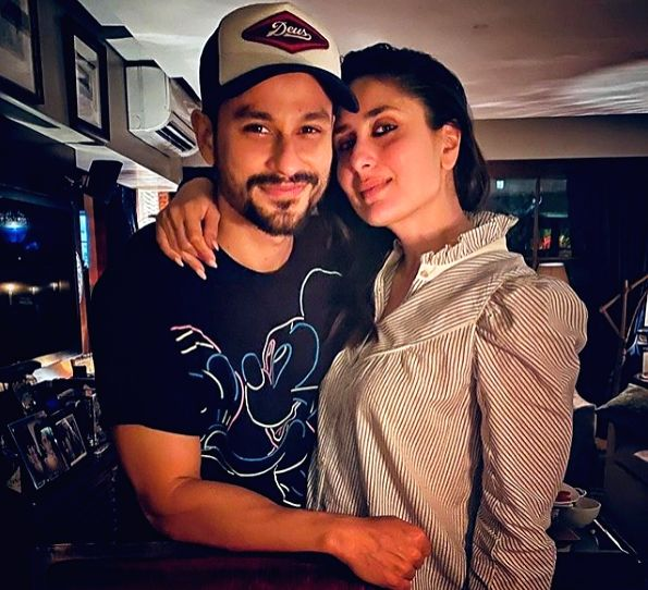 Actor Kunal Kemmu along with sister-in-law Kareena Kapoor Khan.