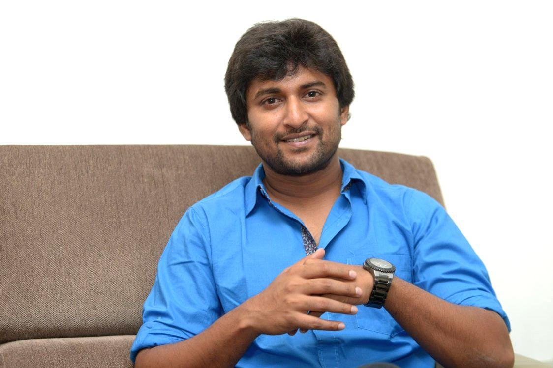Hyderabad: Actor Nani during a interview.