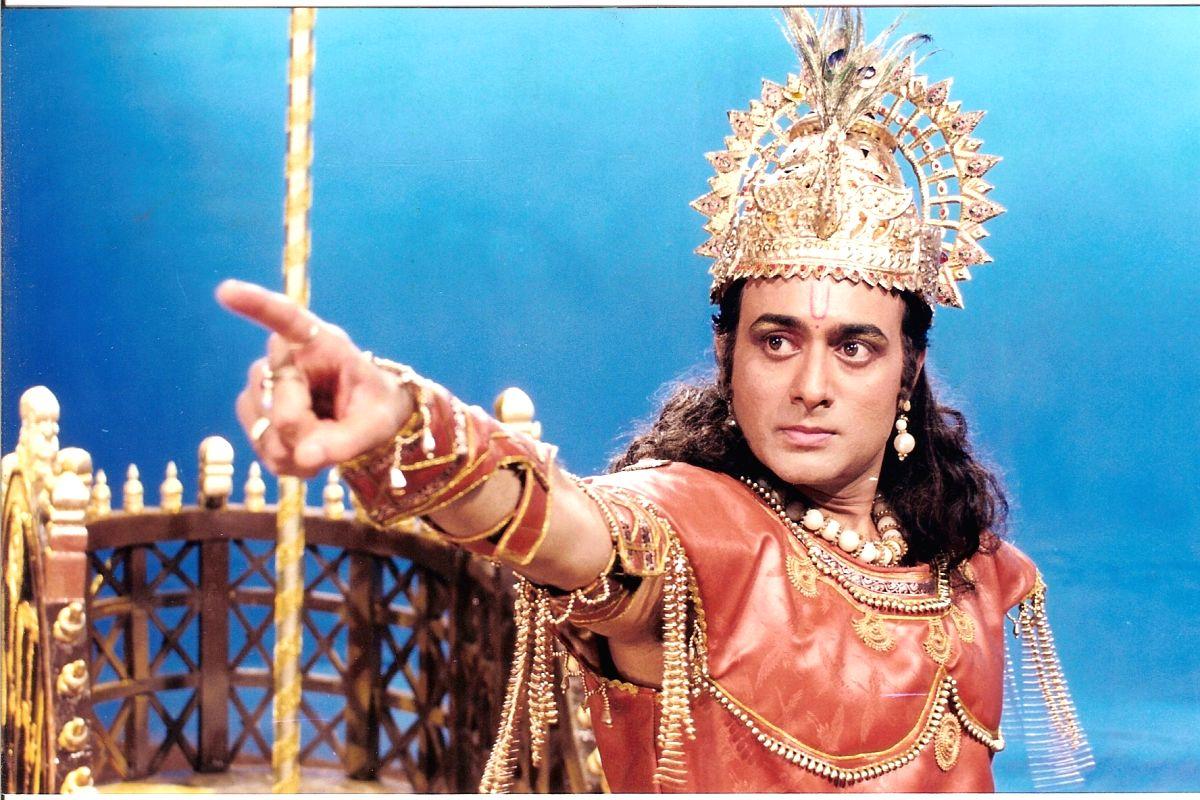 Actor Nitish Bharadwaj.