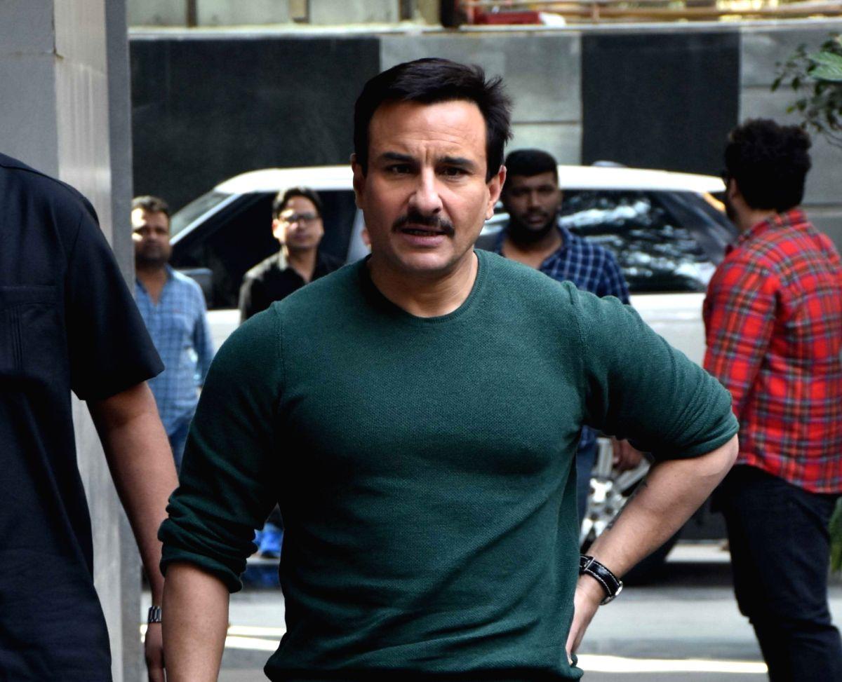 Actor Saif Ali Khan.