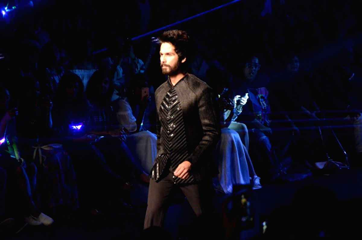 A macho guy can still rock sequins - proves Shahid!