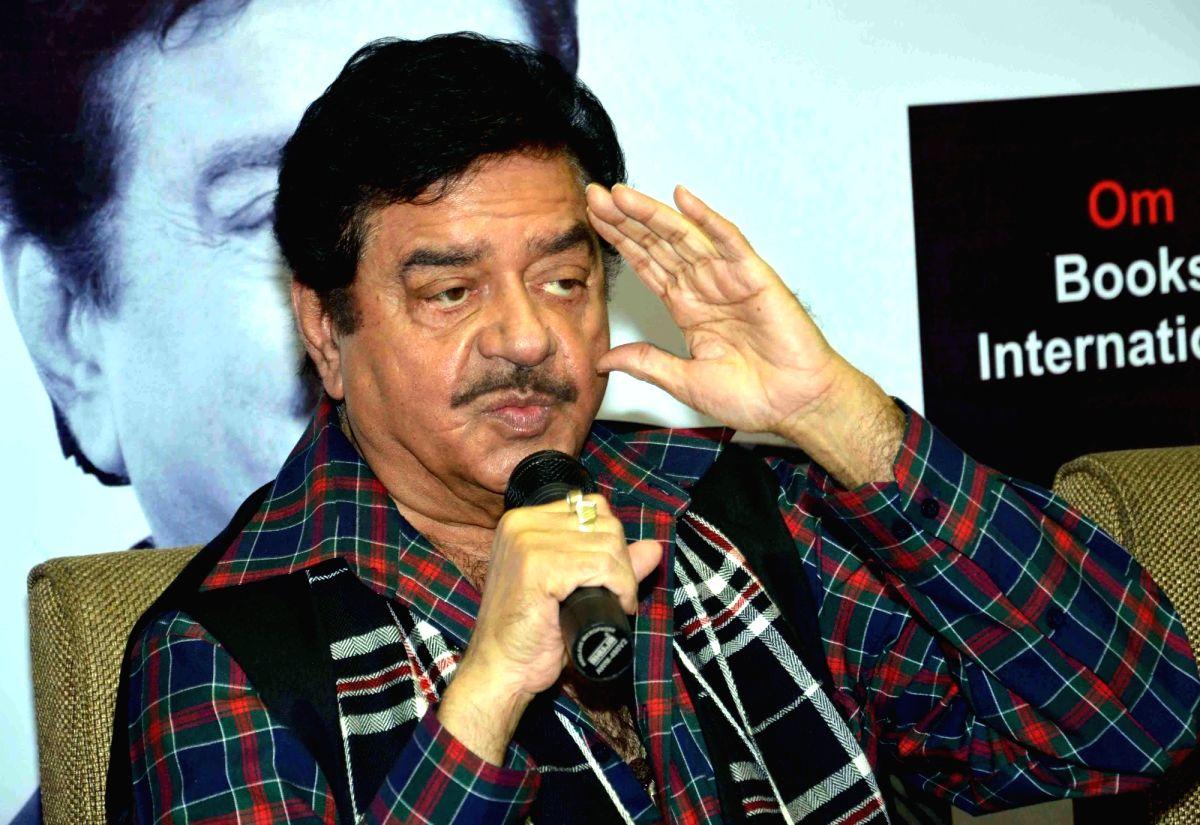Actor Shatrughan Sinha. (File Photo: IANS)