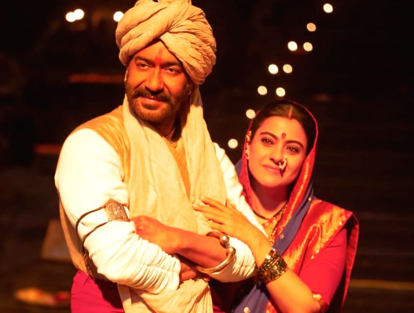Ajay Devgn and Kajol look dashing as they celebrate Christmas