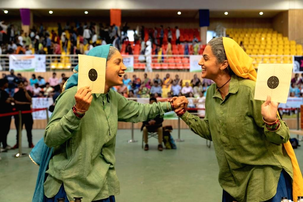 Actors Bhumi Pednekar and Taapsee Pannu - in the role of Chandro Tomar and Prakashi Tomar respectively.