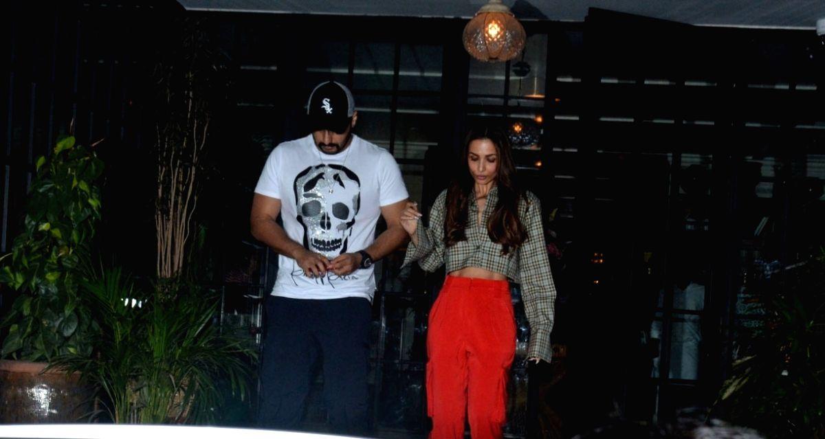 Actors Malaika Arora and Arjun Kapoor.