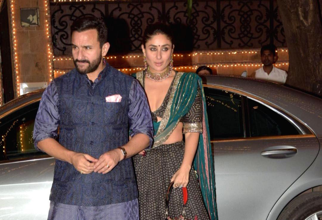 Actors Saif Ali Khan and Kareena Kapoor.
