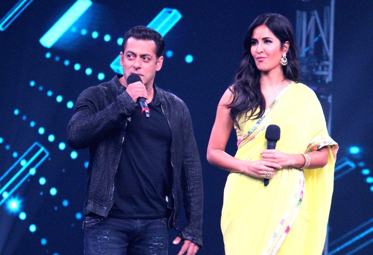 Actors Salman Khan and Katrina Kaif. (Image Source: IANS)