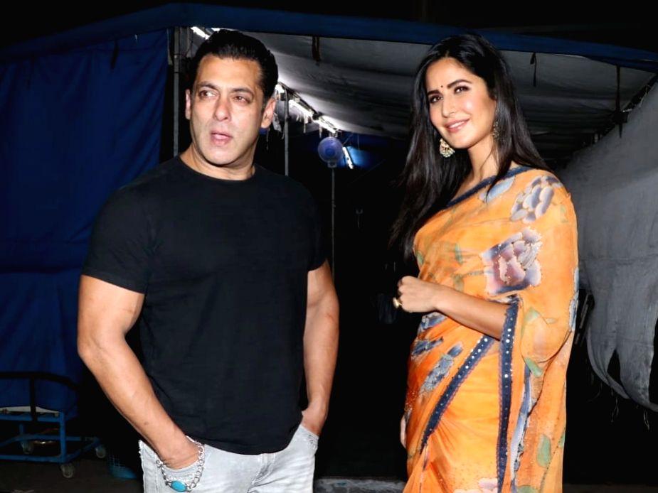 Actors Salman Khan and Katrina Kaif.