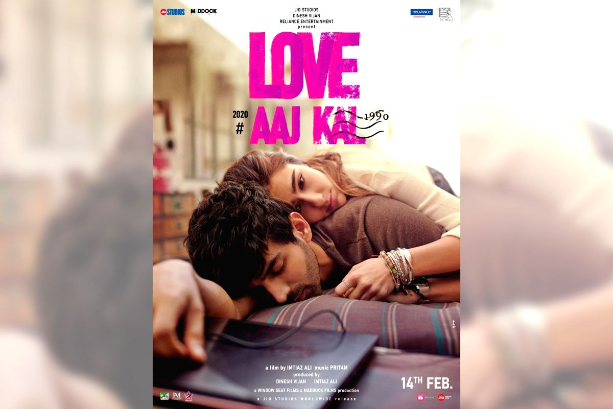 Sara Ali Khan and Kartik Aaryan in Love Aaj Kal