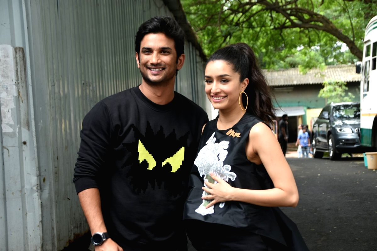 Actors Shraddha Kapoor and Sushant Singh Rajput