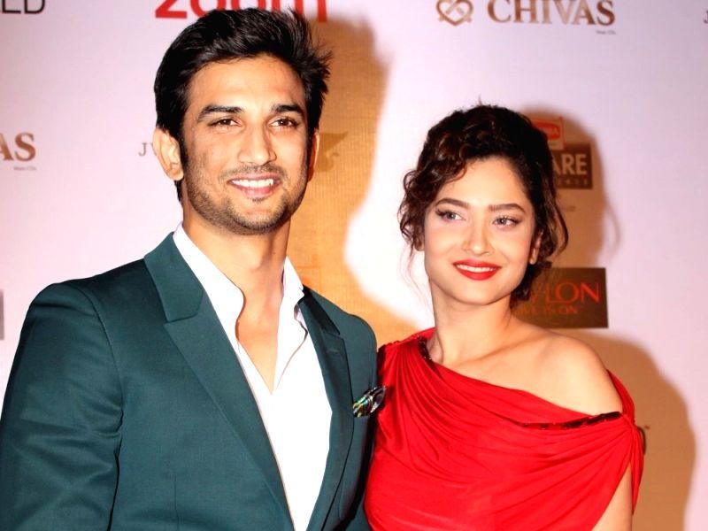 Actors Sushant Singh Rajput and Ankita Lokhande