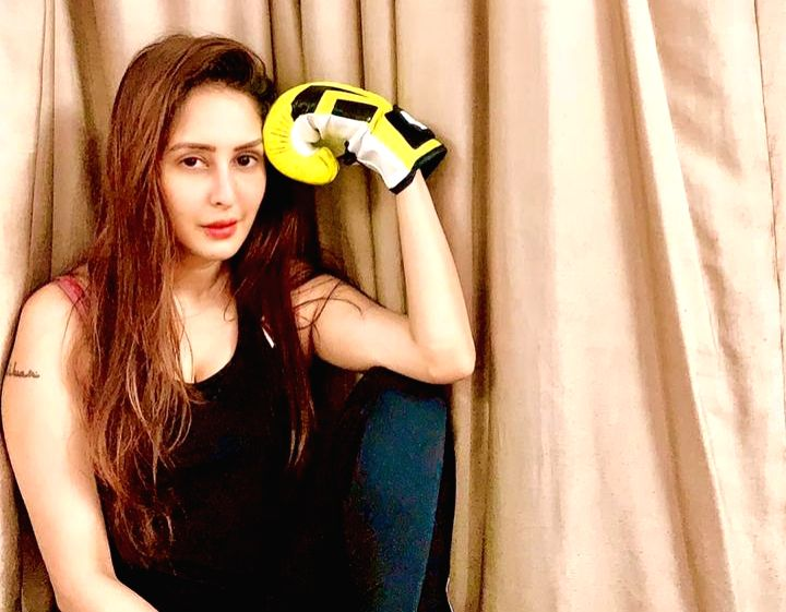 Actress Chahatt Khanna is learning Mixed Martial Arts (MMA) and is also influencing kids in her society to take up the combat sport.