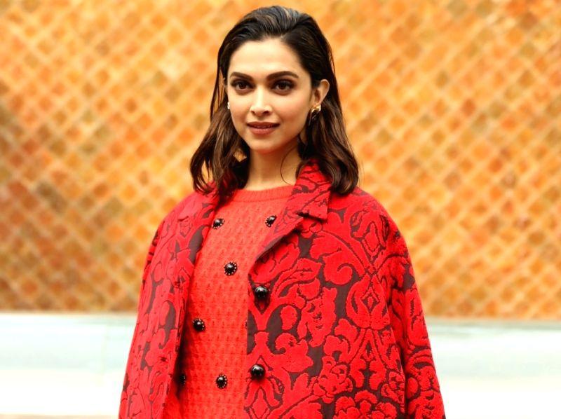 Actress Deepika Padukone red shades of style