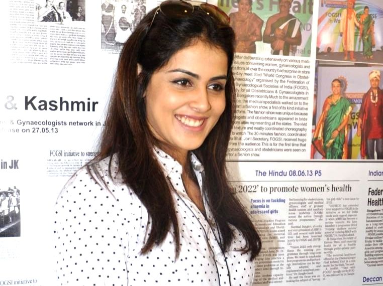 Actress Genelia D'Souza