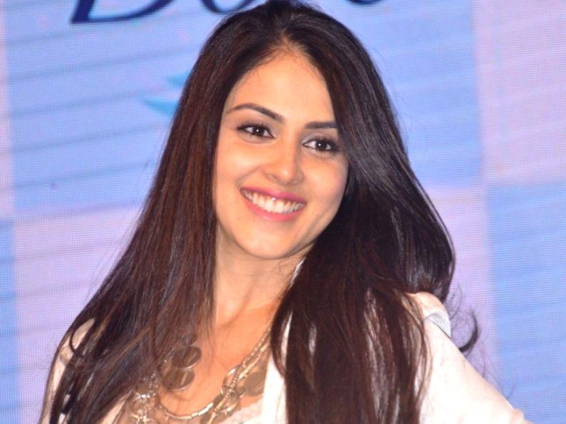 Actress Genelia D'souza Deshmukh