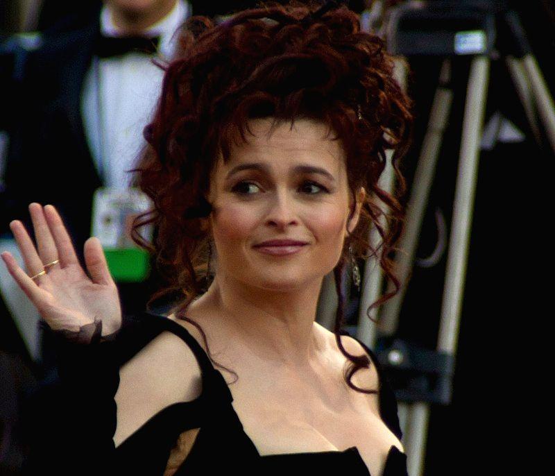 Actress Helena Bonham Carter.
