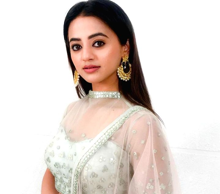 Actress Helly Shah.