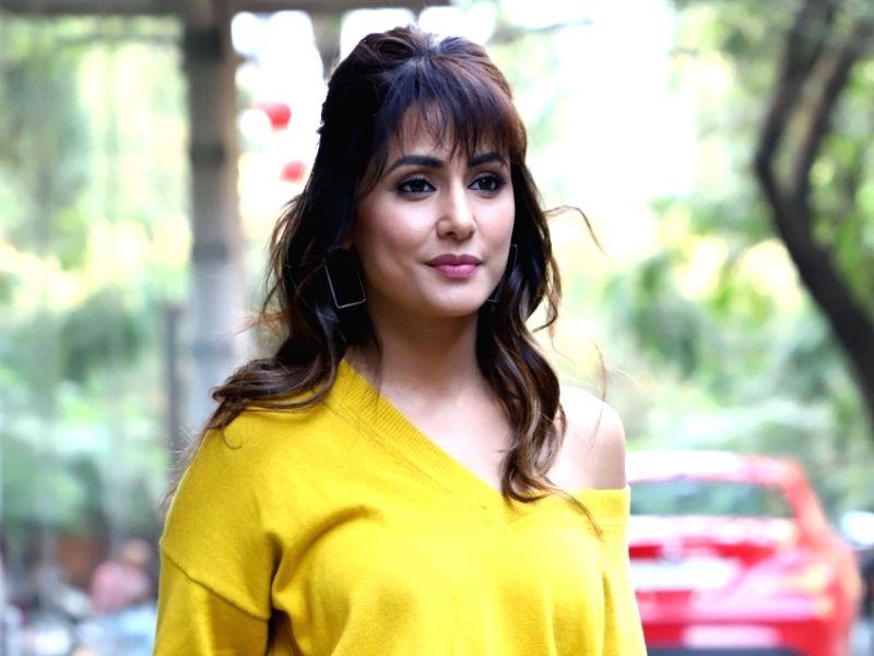 Actress Hina Khan