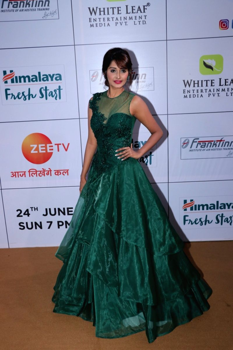 Kanchi Singh looks lush in this emerald green gown