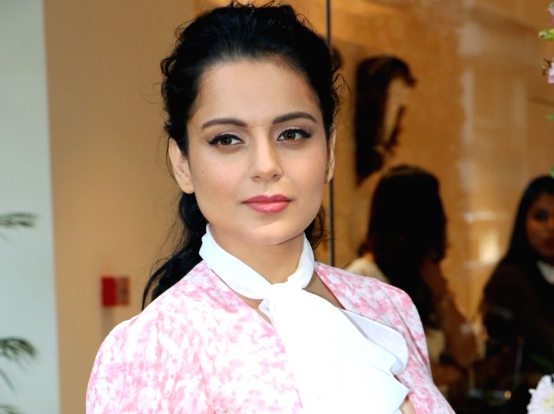 Actress Kangana Ranaut at the launch Femina Flaunt Beauty Studio in Mumbai