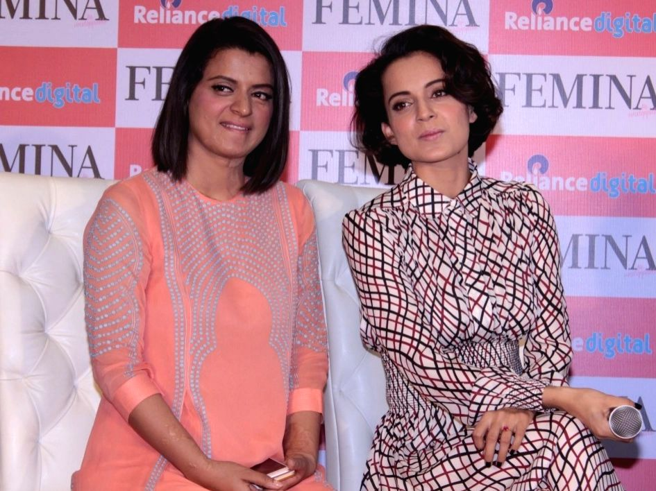FIR against Kangana, sister Rangoli for sedition