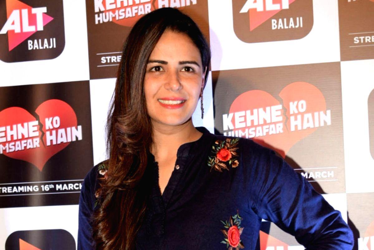 Actress Mona Singh