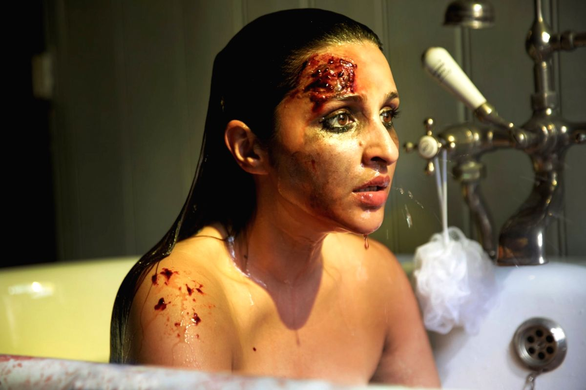 """Actress Parineeti Chopra gave a sneak peek of her """"intense"""" look from her upcoming film the Hindi remake of Hollywood thriller """"The Girl On The Train""""."""