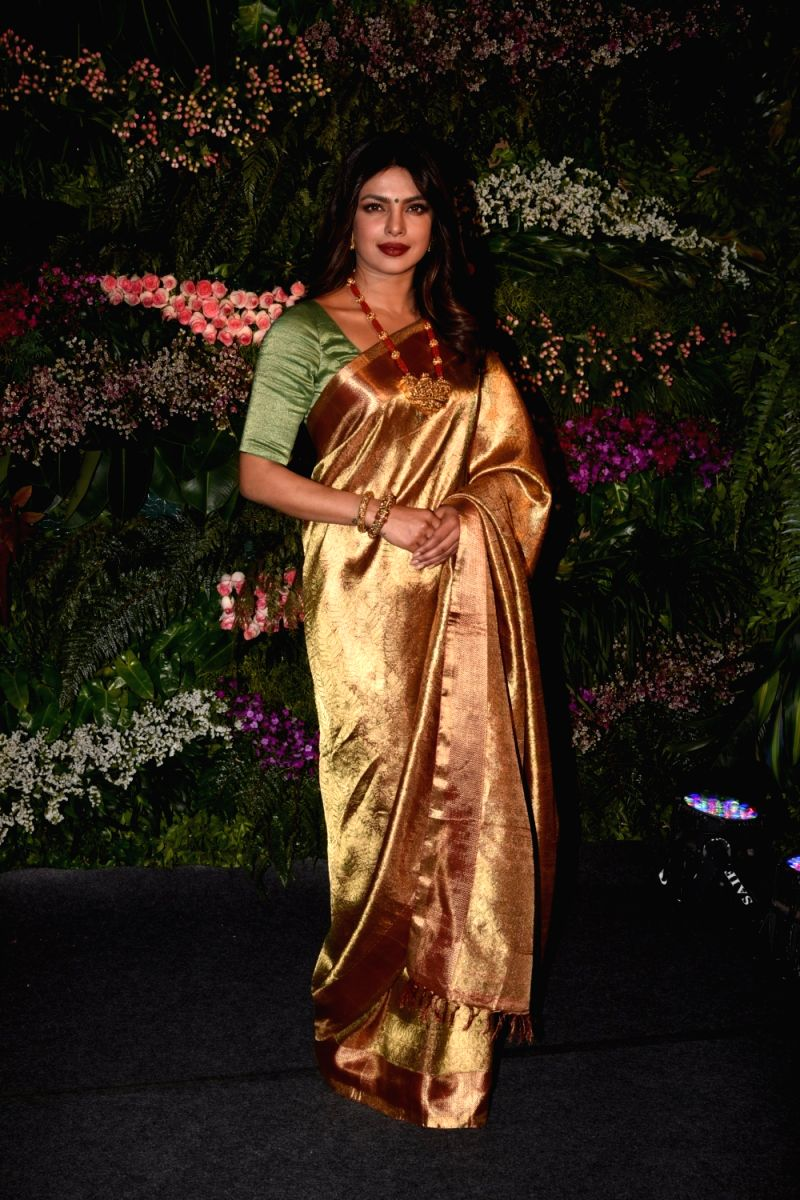 PeeCee looks simply fabulous in this Kajeevaram saree. This Baywatch beauty can do traditional too!