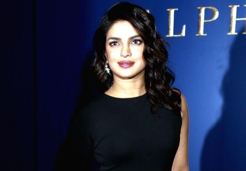 Actress Priyanka Chopra.