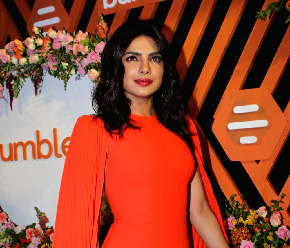 Actress Priyanka Chopra.