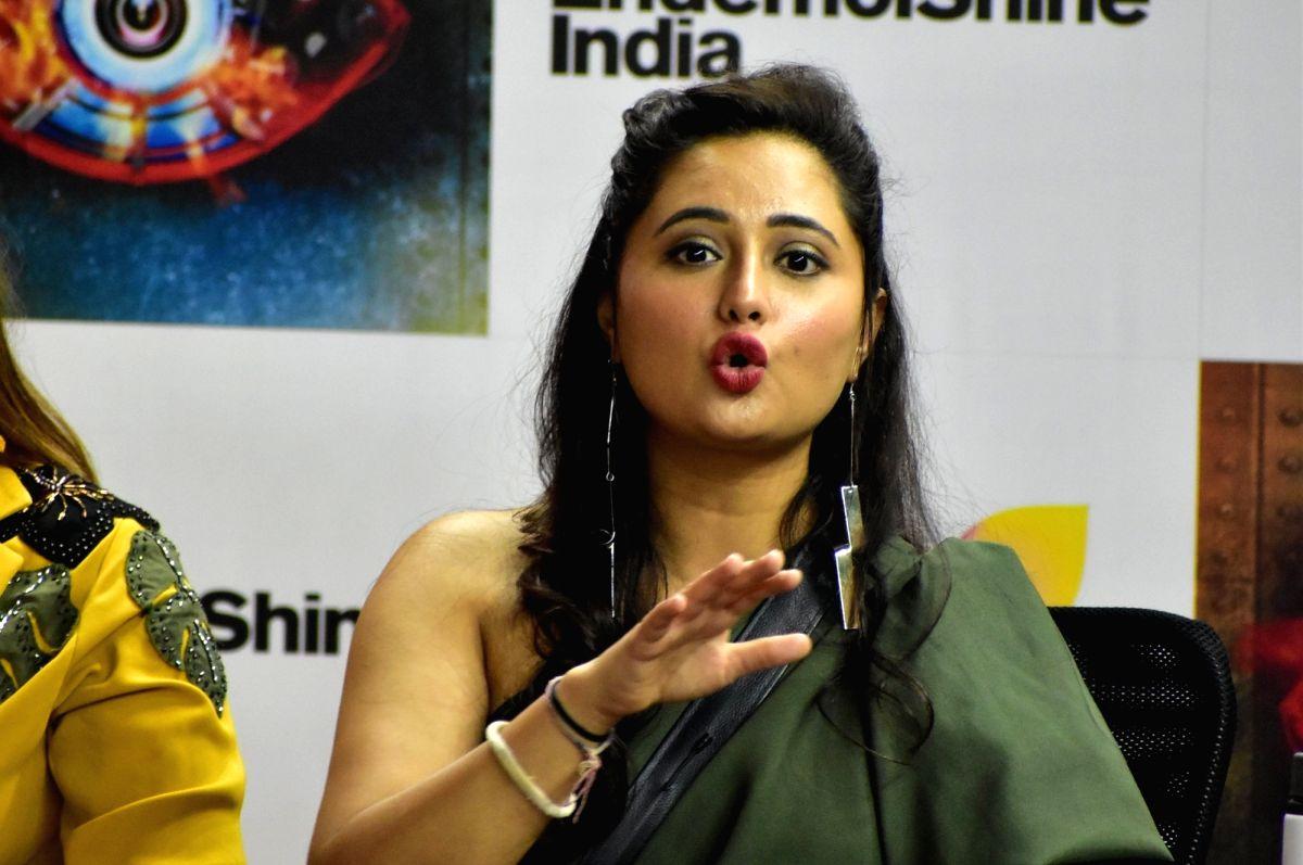 Actress Rashami Desai
