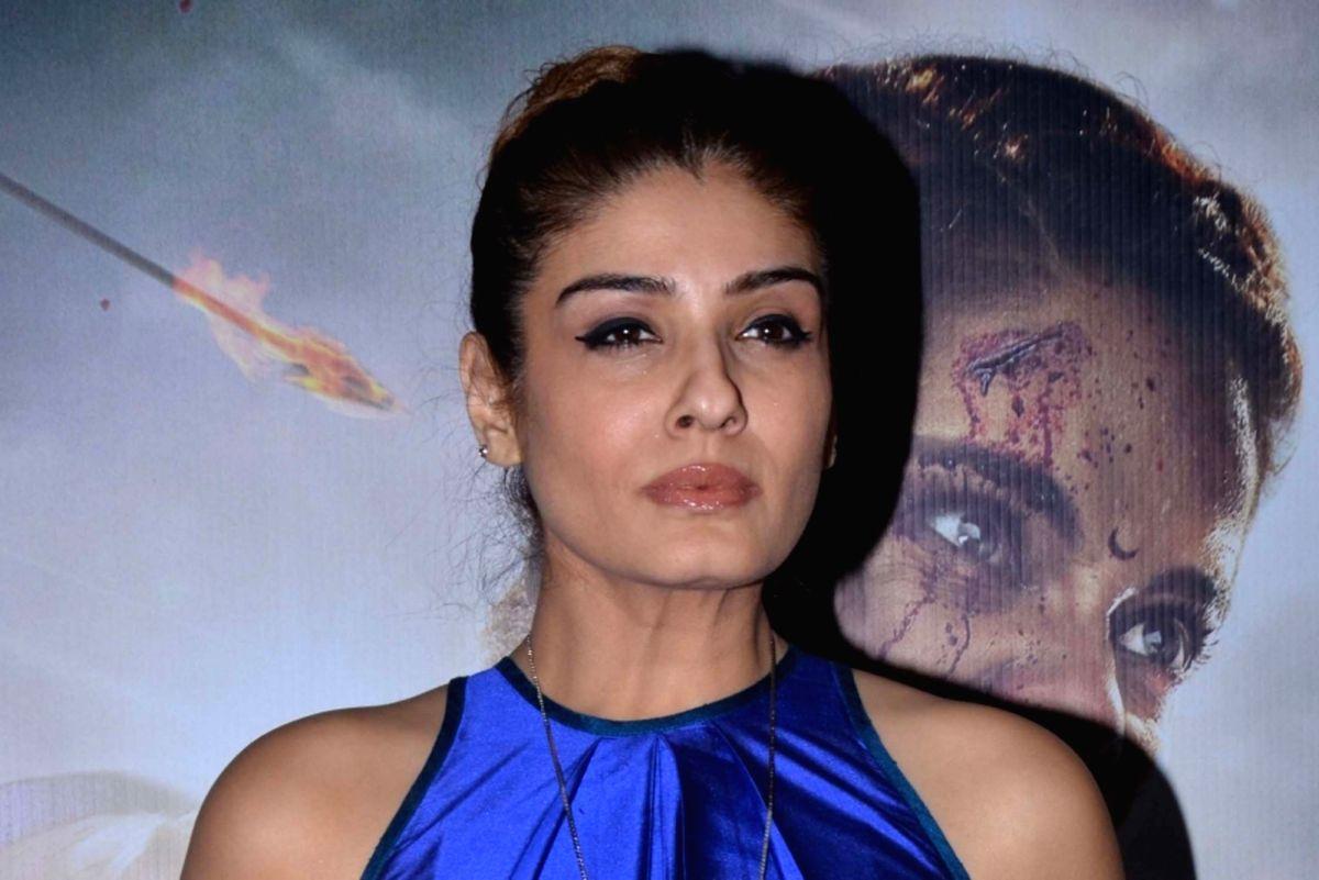 Actress Raveena Tandon.