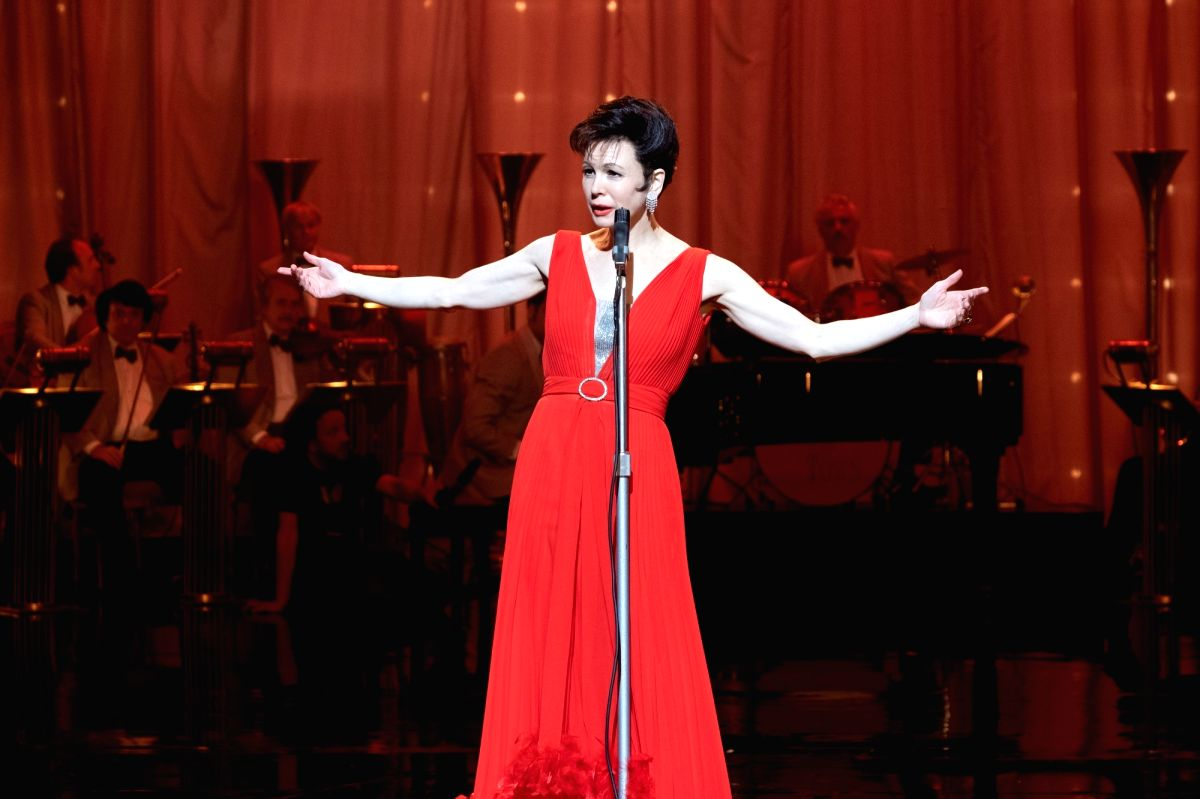 """Actress Renee Zellweger says singing for """"Judy"""" wasn't easy, but she didn't have time to think about being judged. The film traces the journey of an iconic star Judy Garland and her career during the last year of her life when she relocated her s"""