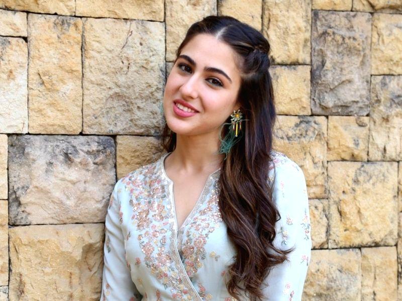 Actress Sara Ali Khan