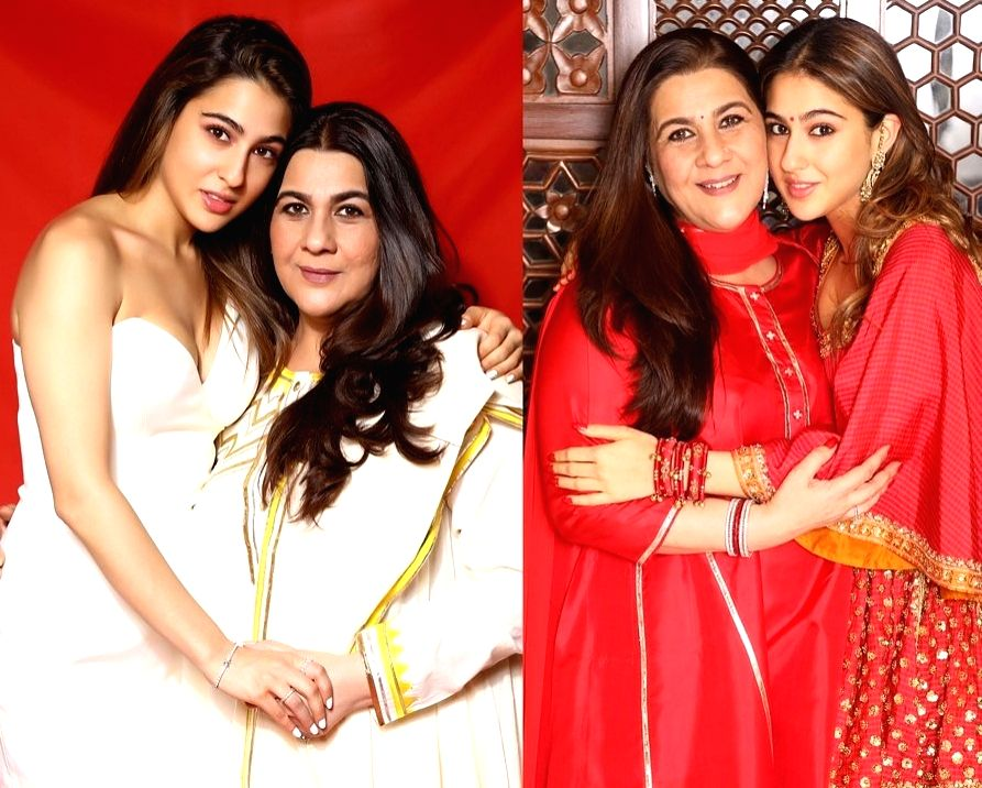 Sara Ali Khan and her mother Amrita Singh