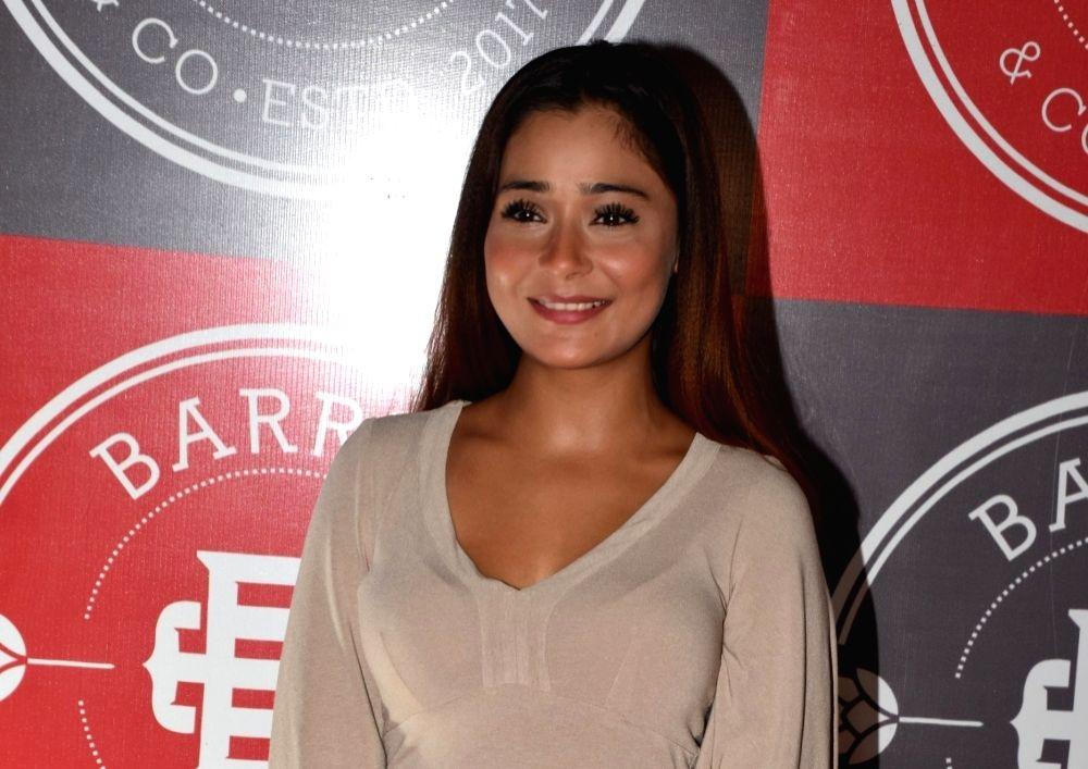 Actress Sara Khan. (File Photo: IANS)