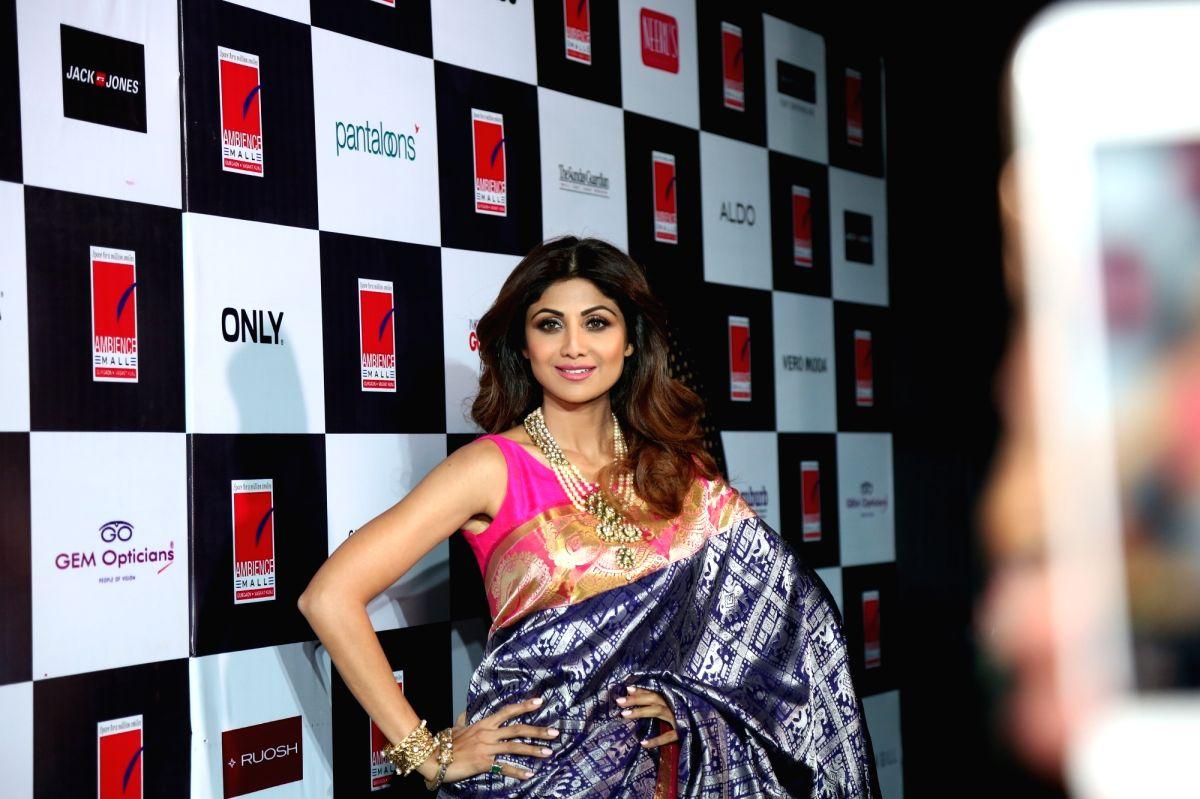 Actress Shilpa Shetty.
