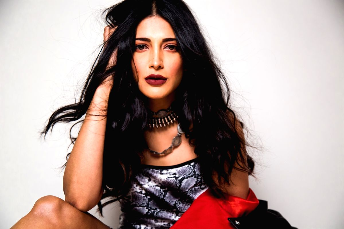 Actress Shruti Haasan.