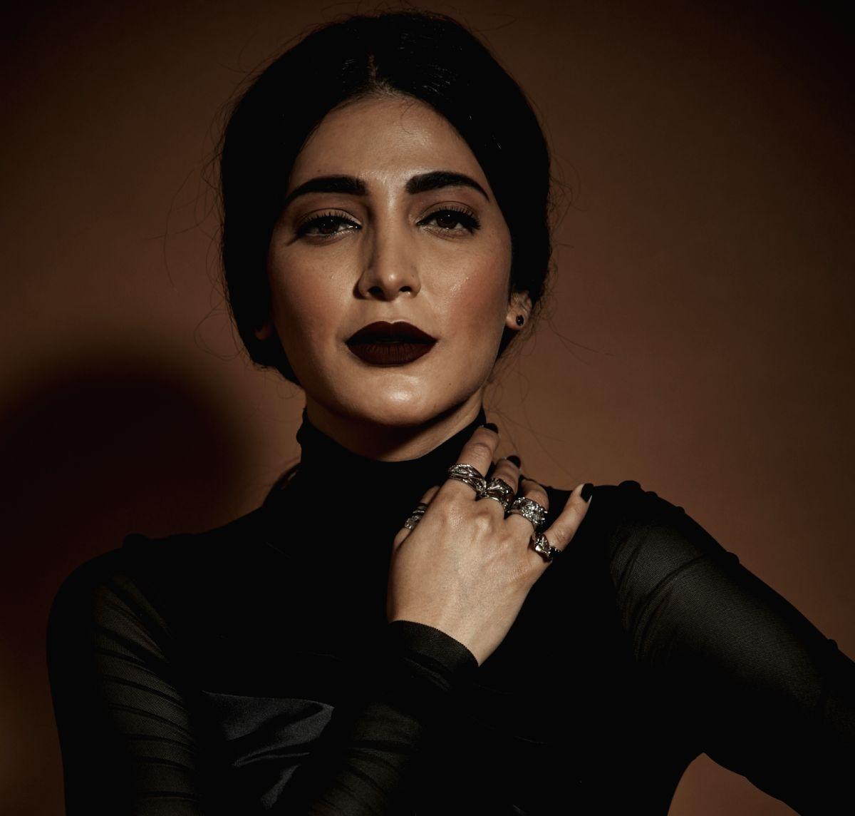 Actress Shruti Haasan.
