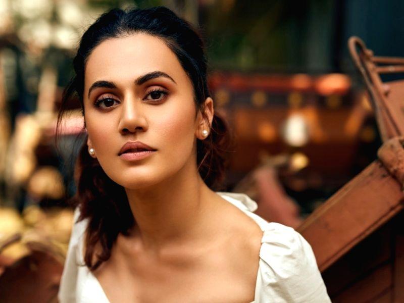 Actress Taapsee Pannu.
