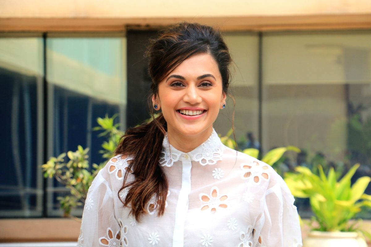 Actress Taapsee Pannu. (File Photo: IANS)