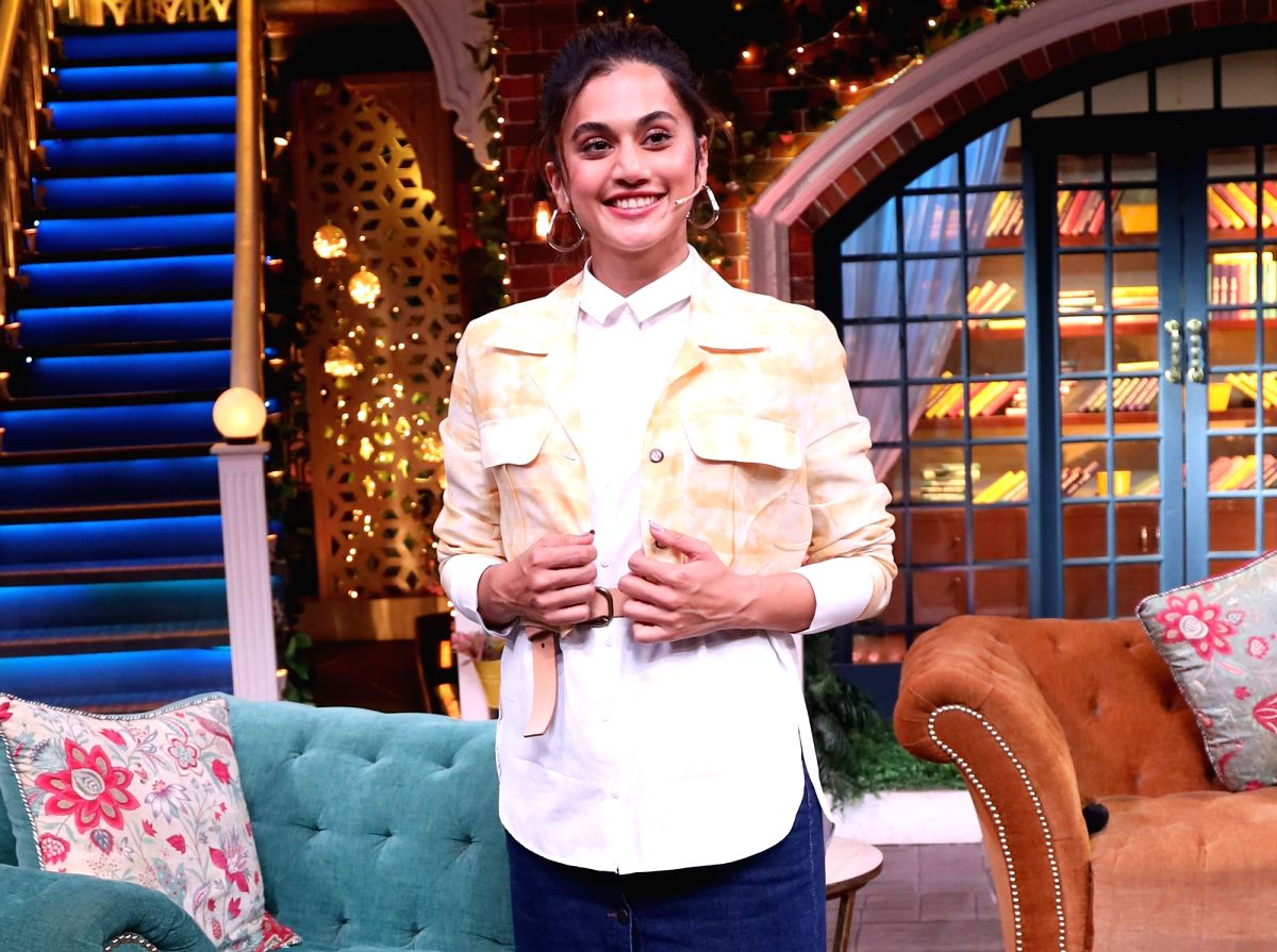 Actresses Taapsee Pannu.
