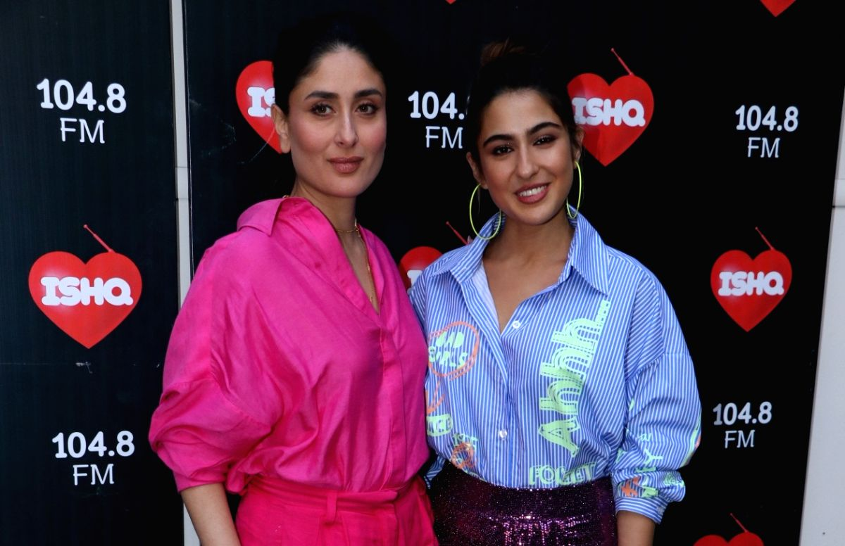 Kareena Kapoor Khan and Sara Ali Khan