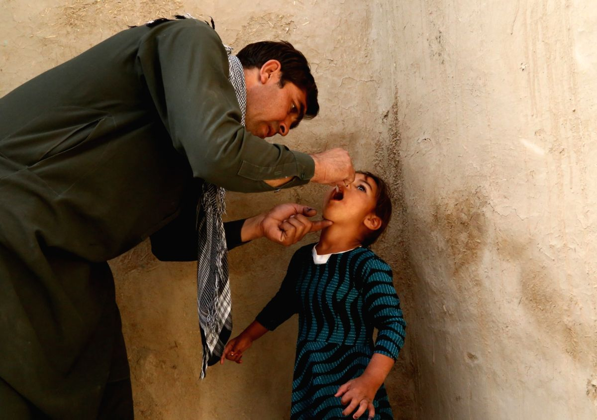 Afghanistan launches polio vaccination targeting 9.1 mn kids