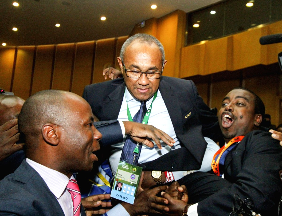 African football chief Ahmad banned for 5 years