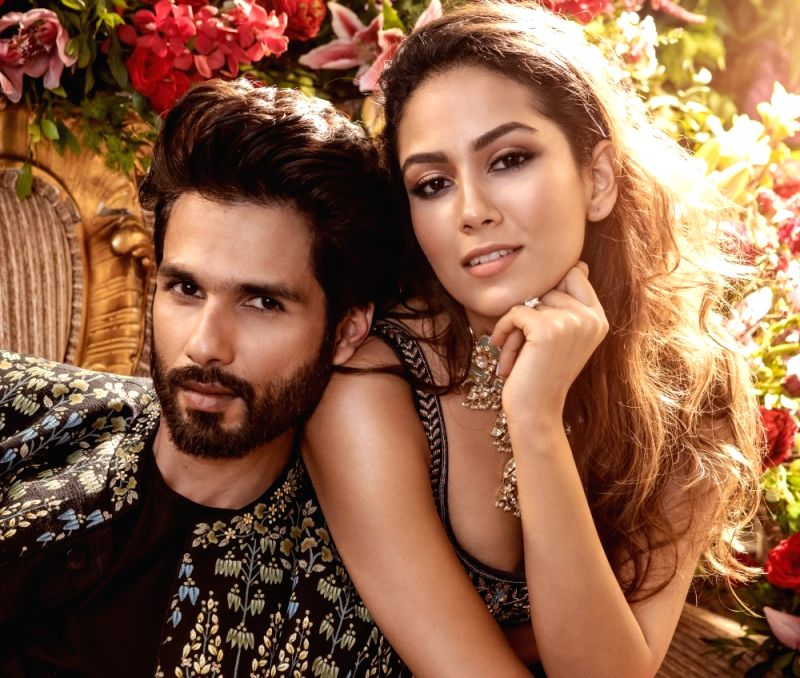 Star couple Shahid Kapoor and Mira Rajput are adding a touch of glamour in the world of fashion. They look amazing on the cover of Vogue India Wedding Book 2019