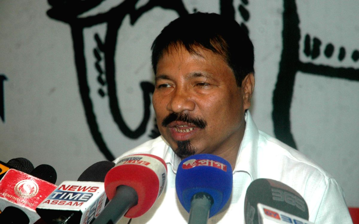 AGP leader Atul Bora.